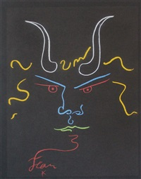head of the minotaur by jean cocteau