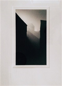 warehouse, slaithwaite, yorkshire, england by michael kenna