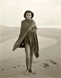 marine, the last day of summer #2, montalivet, france by jock sturges