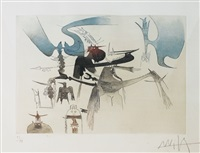 untitled (from xxe siecle) by wifredo lam