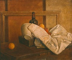 still life with oranges #1 by isabel bishop