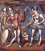 la parade by georges rouault