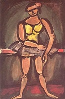 ballerine by georges rouault