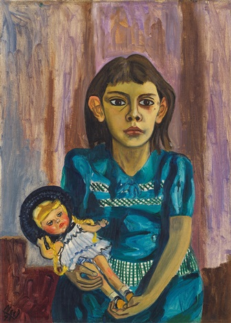 julie and the doll by alice neel