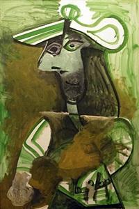 femme au chapeau by pablo picasso