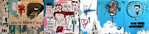 life like son of barney hill by jean-michel basquiat