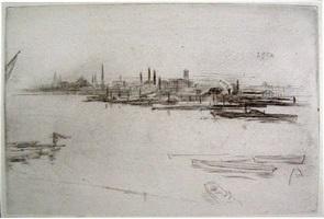 battersea dawn by james abbott mcneill whistler