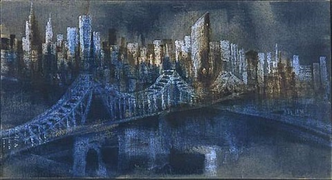 queensborough bridge by rainer fetting