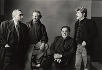 the whiz kids: scorcese, lucas, spielberg, coppola, 1996 by annie leibovitz