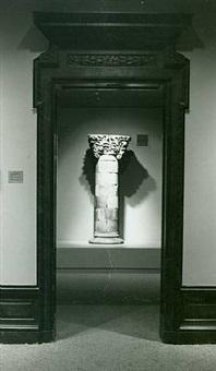 window column from the chicago stock exchange building by louis henri sullivan