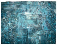 night scene by leon golub