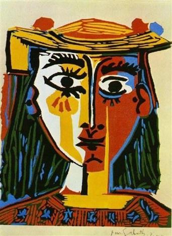 femme au chapeau picasso