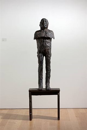 kacper, 2002 by magdalena abakanowicz