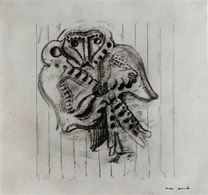 untitled (frottage) by max ernst