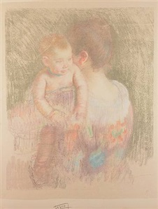 art in a mirror the counterproofs of mary cassatt by mary cassatt