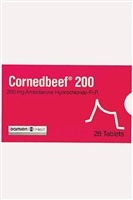 last supper (corned beef) by damien hirst