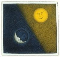luna y sol by rufino tamayo
