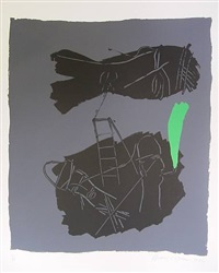 silkscreen by bruce mclean