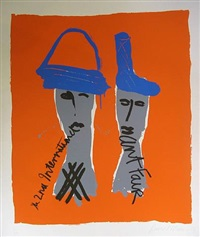 the 2nd international art fair by bruce mclean