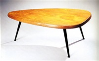 table basse form libre by jean prouvé and charlotte perriand