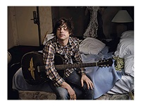 ryan adams, hollywood hills best western hotel, los angeles, 2002 by annie leibovitz