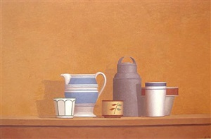 still life - ginepro no. 2 by william h. bailey
