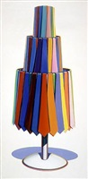 tie rack by wayne thiebaud