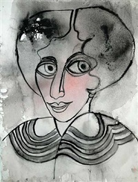 madame marcott by grace hartigan