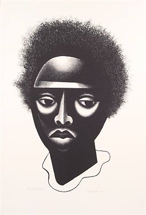 black girl by elizabeth catlett