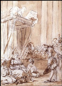 st. phar at the court of queen aline of golconde by jean honoré fragonard
