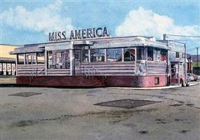 miss american diner by john baeder