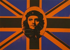 god save che guevara by gavin turk