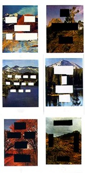 country cityscapes by ed ruscha