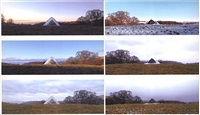 <!--2-->stone pile... the following day, camling, dumfriesshire by andy goldsworthy