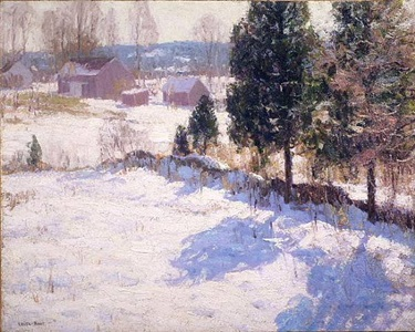sunlight on snow by harry leith-ross