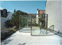 rooftop pavilion for munich by dan graham