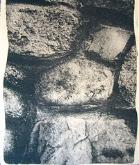 approved - now the stones will stand one more day. by vito acconci