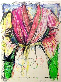 untitled, olympic robe by jim dine
