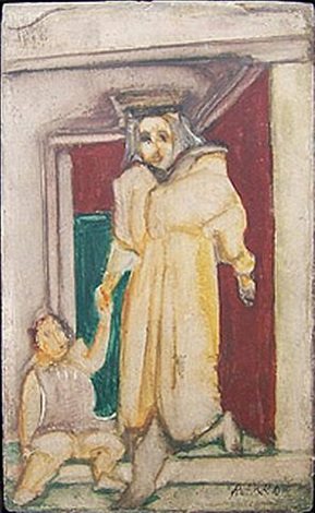 mother and child by mark rothko