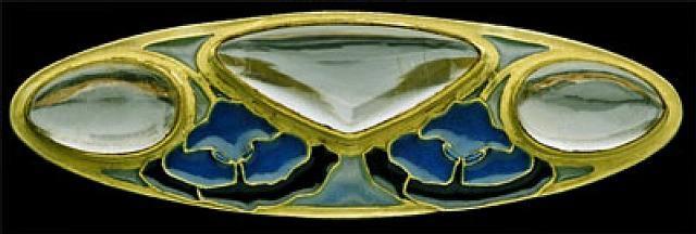 art nouveau brooch by rené lalique