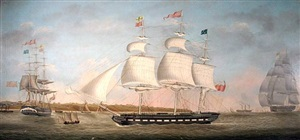 gipsey off egremont in three positions, circa 1828 by miles walters