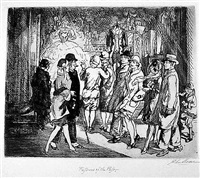 fashions of the past by john french sloan
