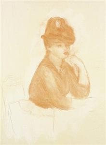 renoir the pastel counterproofsat adelson galleries, new york by pierre-auguste renoir