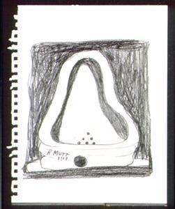 mike bidlo, the fountain drawings by mike bidlo