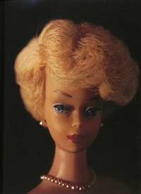 barbie (head shot) by david levinthal