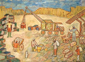 exchange place by beauford delaney