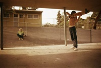 skate shooter, kenter canyon elementary, brentwood by hugh holland