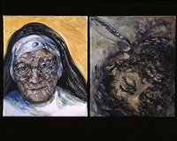 nun and prisoner by maggi hambling