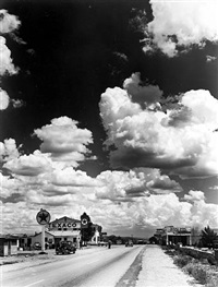 route 66, arizona by andreas feininger