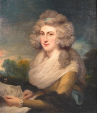 portrait of lady malgrave by john jackson